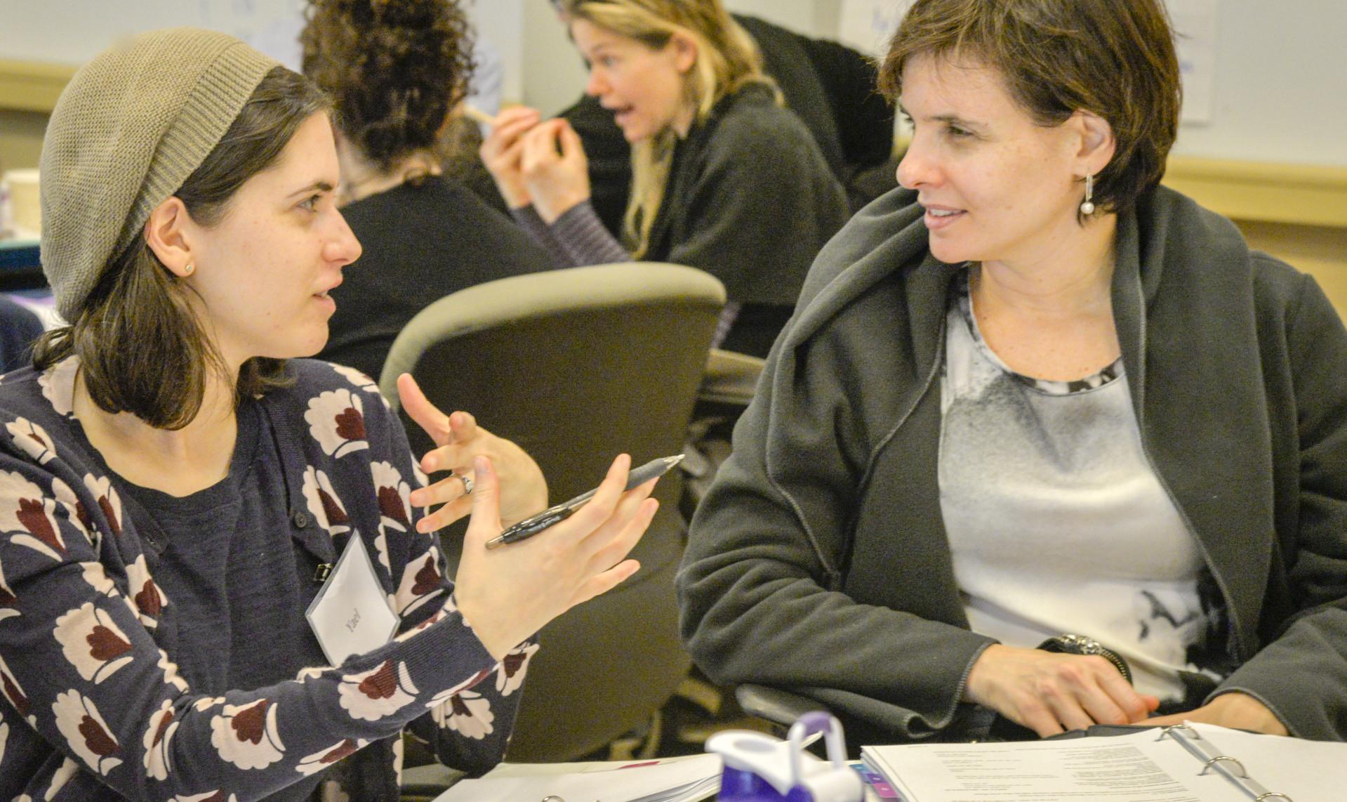 Mandel Teacher Educator Institute, MTEI, held 3 morning sessions for teachers in Skokie, IL