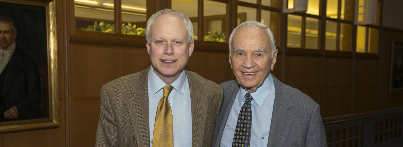 Professor John Protasiewicz And Morton L. Mandel