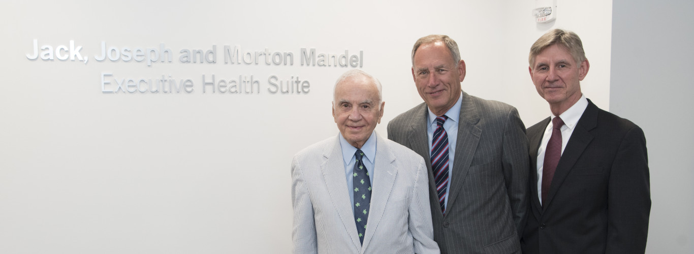 Jack, Joseph And Morton Mandel Executive Health Suite Dedication