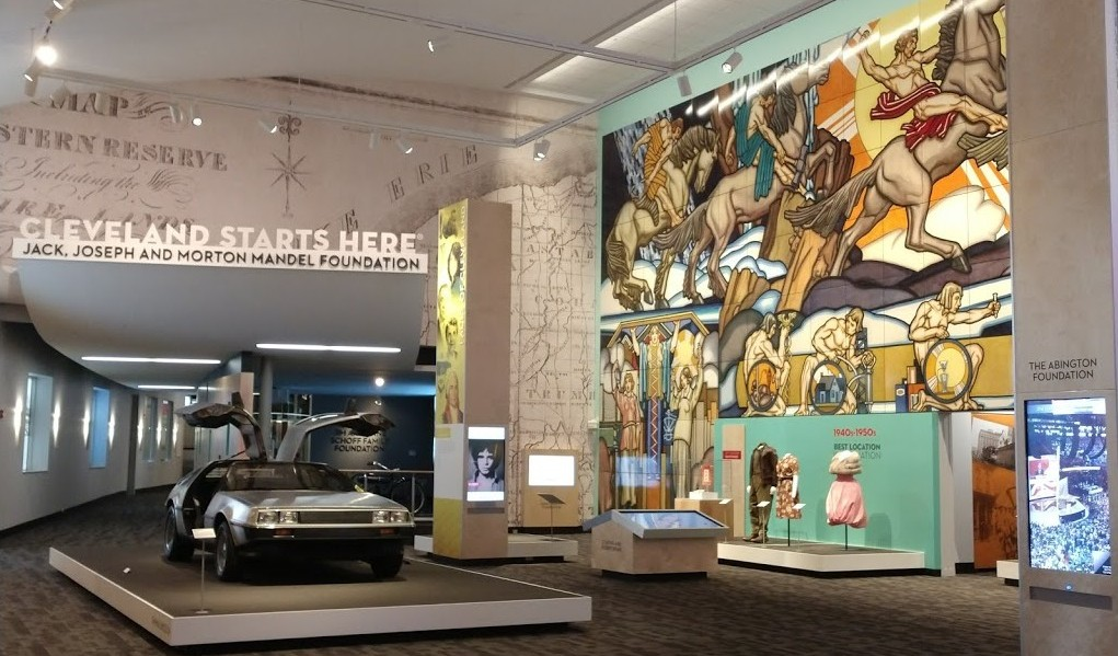 The Western Reserve Historical Society Celebrates The Opening Of Cleveland Starts Here®, Sponsored By The Jack, Joseph And Morton Mandel Foundation At The Cleveland History Center