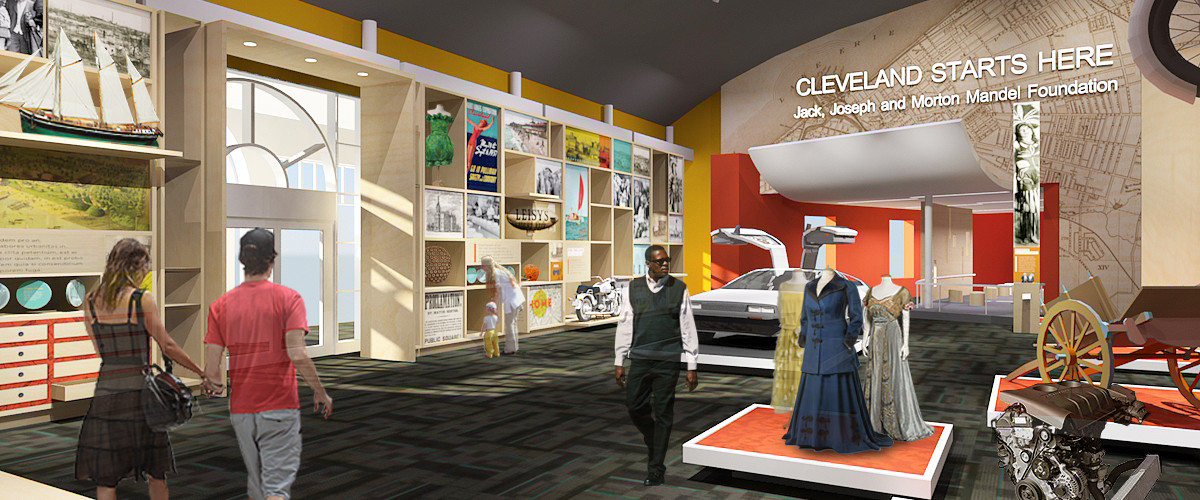 "The Jack, Joseph And Morton Mandel Foundation Is The Title Sponsor Of ""Cleveland Starts Here"" At The Cleveland History Center In University Circle"