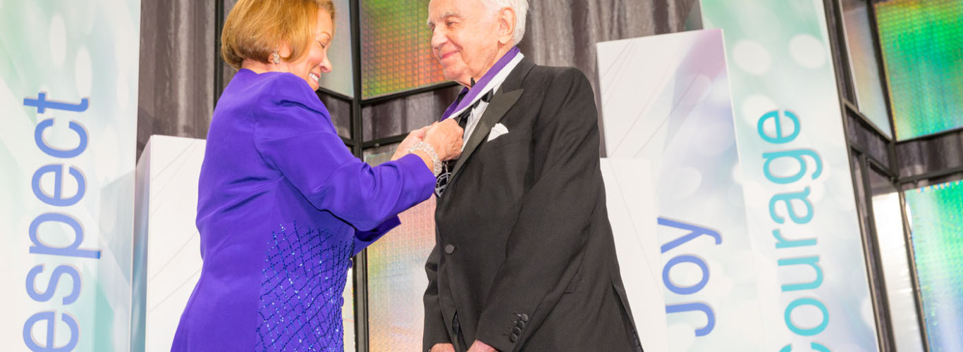 Morton L. Mandel Receives The Cleveland Heritage Medal