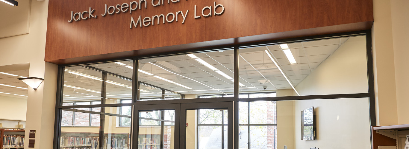 Jack, Joseph And Morton Mandel Memory Lab