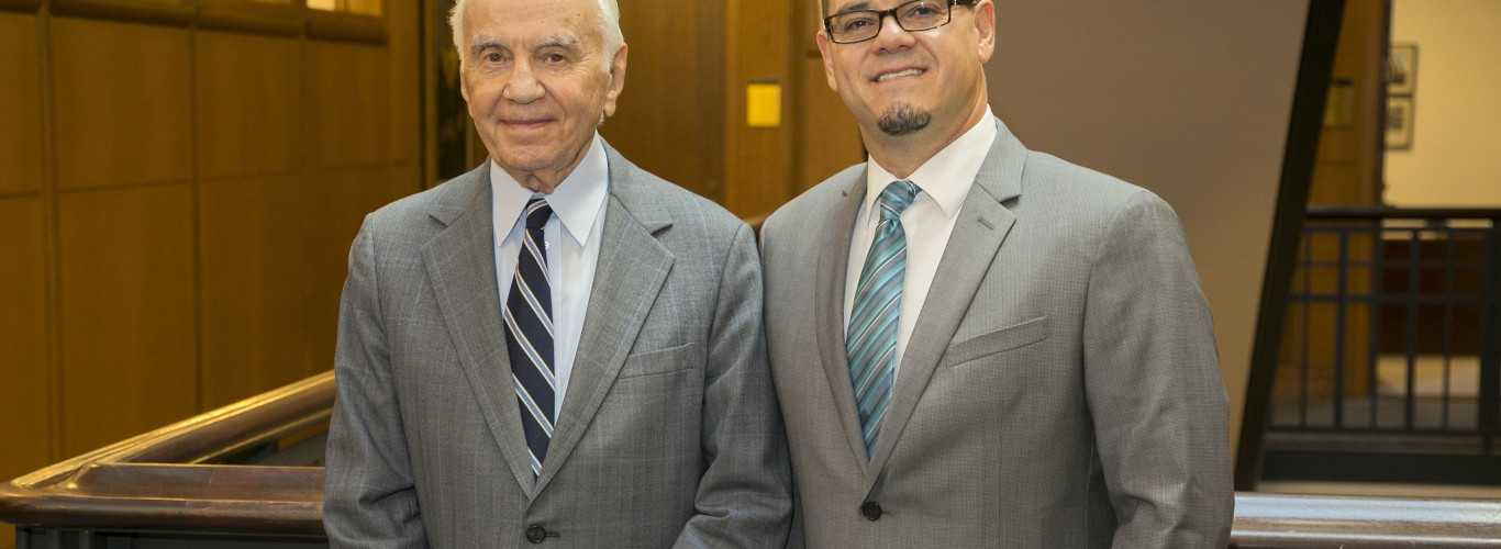 Case Western Reserve University, Department Of Chemistry, Morton L. Mandel Award Presented To Professor Carlos Crespo-Hernández