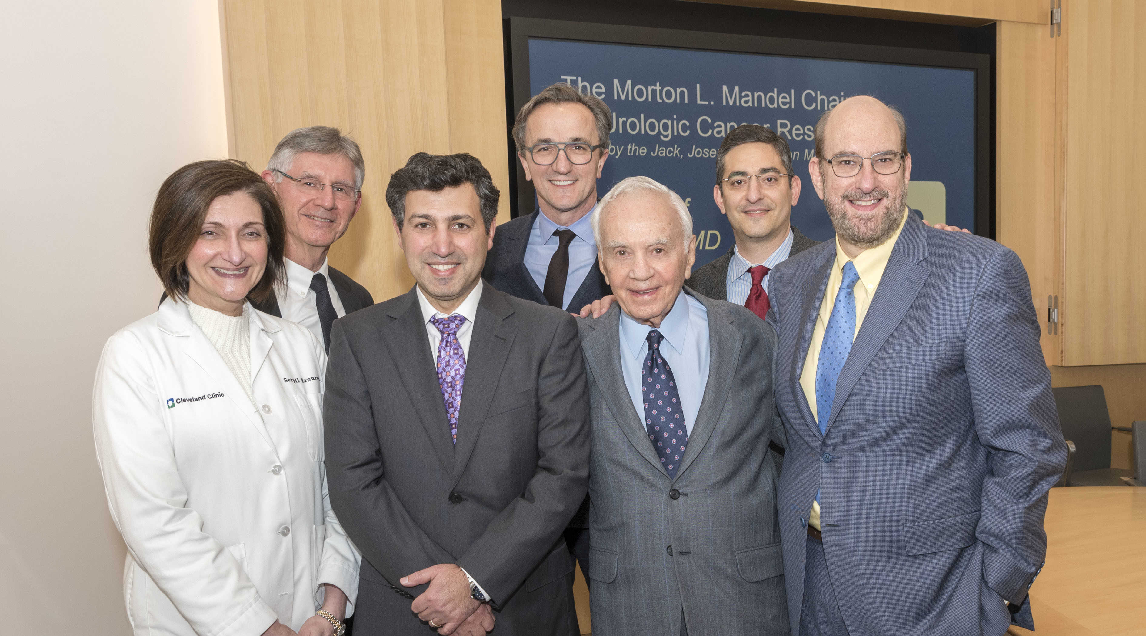 The Jack, Joseph And Morton Mandel Foundation Gives $1 Million To Endowed Chair In Urologic Cancer Research At Cleveland Clinic